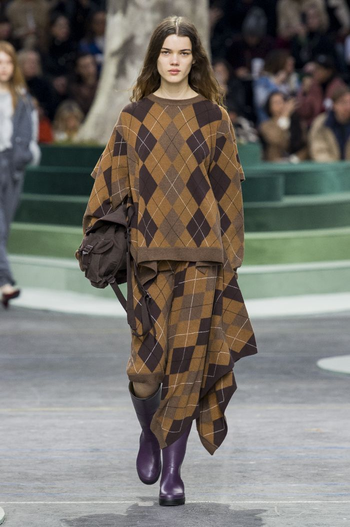 Lacoste presented its F/W 18 collection in Paris and topped off almost every look with bucket hats. Thoughts?