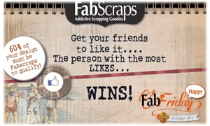 With Love From FabScraps: HAPPY HAPPY FABFRIDAY
