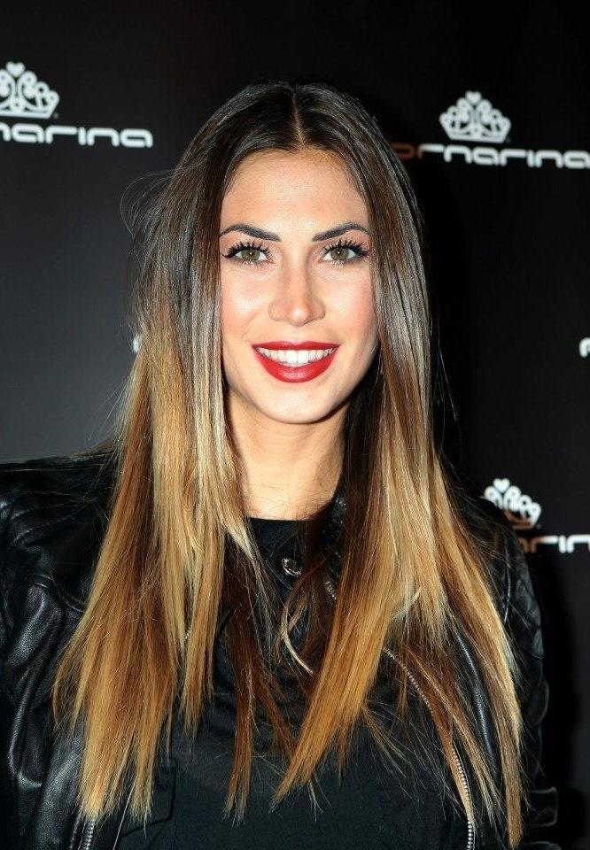 Melissa Satta hair.. Shatush