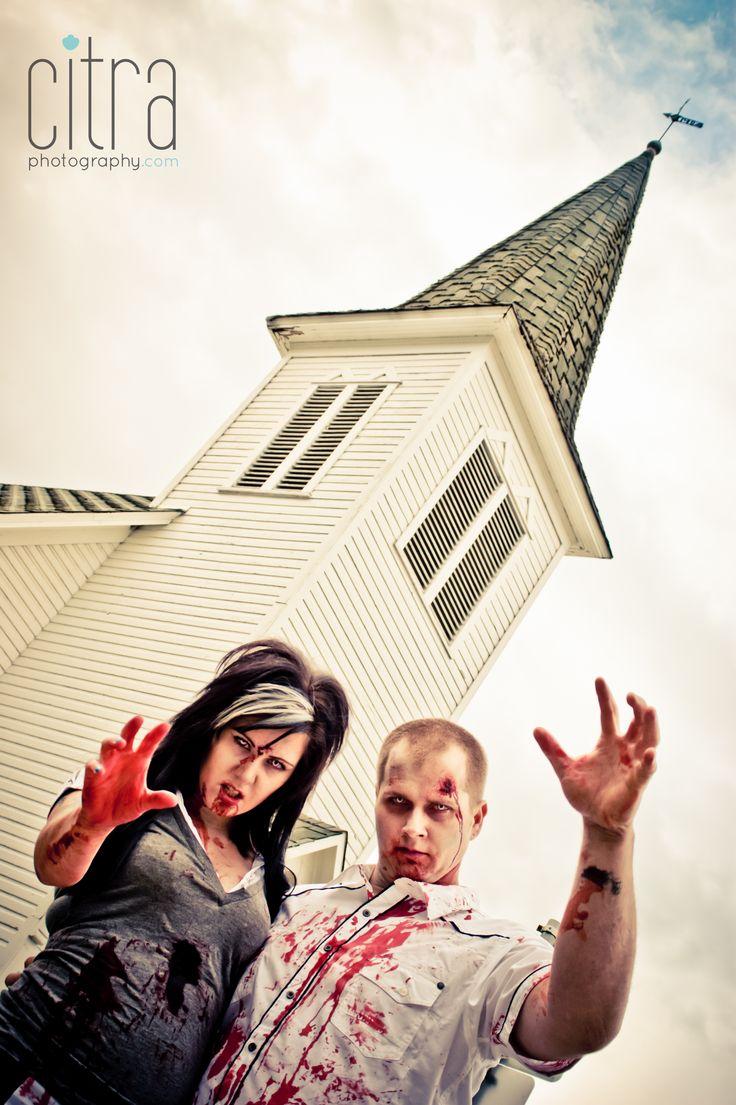 Couples Zombie Photos