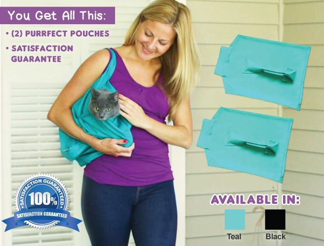 Purrfect Pouch ™ Cat Carrier | Official TV Site
