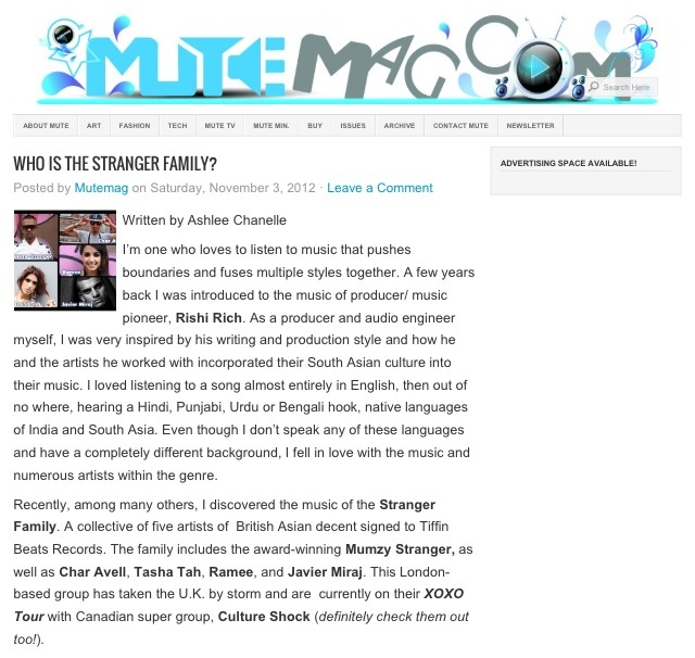 WHO IS THE STRANGER FAMILY?  Read more on this article at MuteMag.com