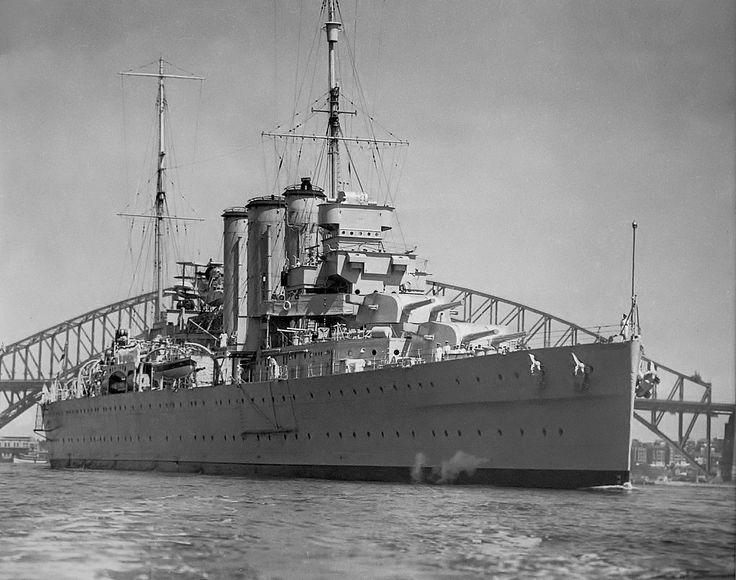 jcsmarinenews:  HMAS CANBERRA – 1937 http://ift.tt/1OZYPZ8