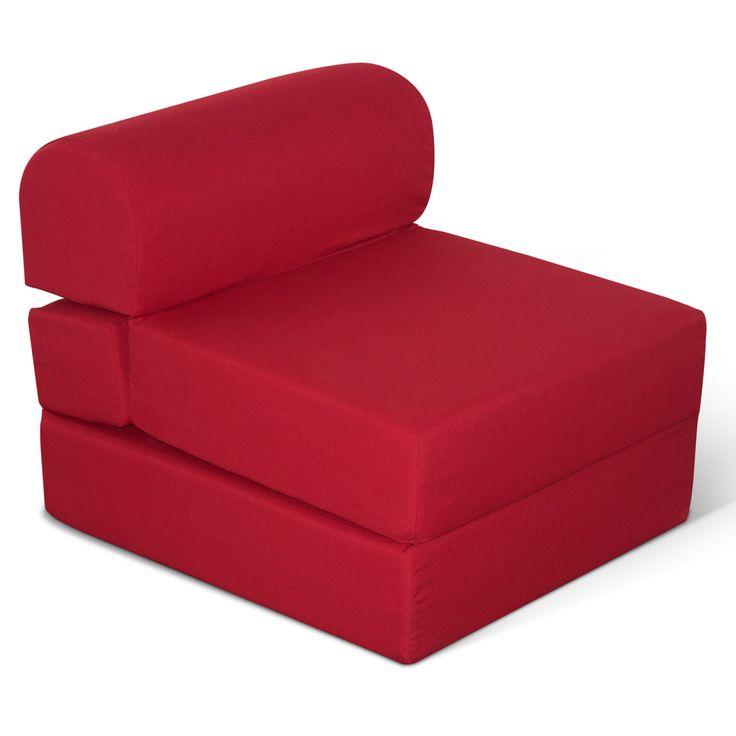 American Furniture Alliance Juvenile Poly-Cotton Jr. Twin Studio Futon Chair - 24 in. - 32-4300-601