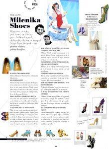 Interview in Elle magazine