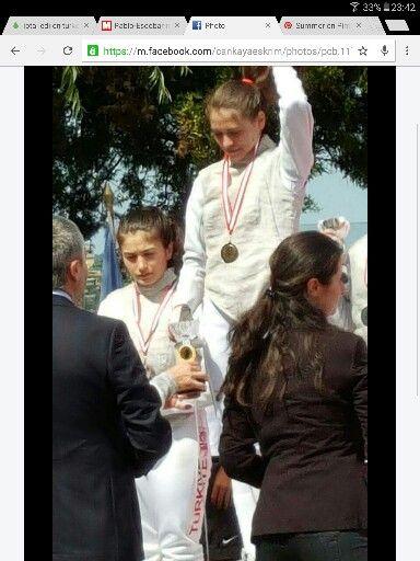 Firuze Ayşen Güneş TED Gençlik Kupası Şampiyonu