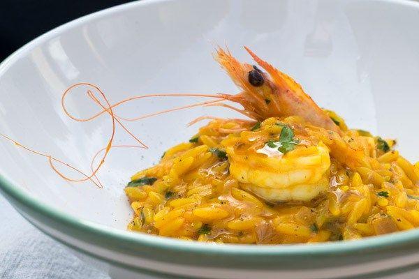Most Creamy Shrimp Risotto EVER!