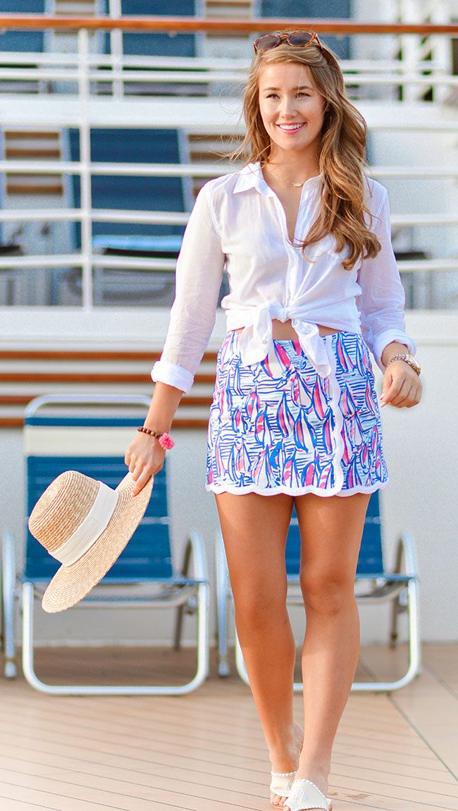 Skort At Sea By A Lonestar State Of Southern