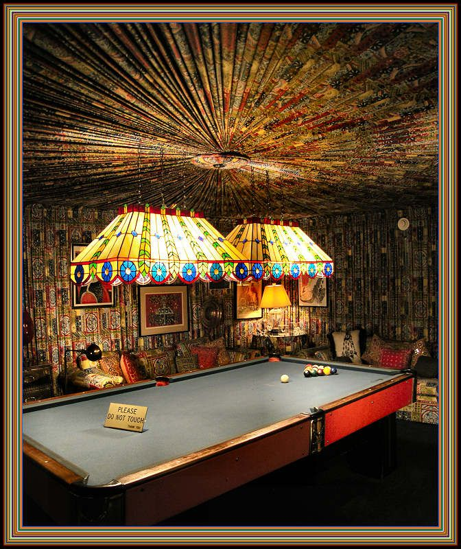 Pool Room at Graceland, Memphis, Tennessee