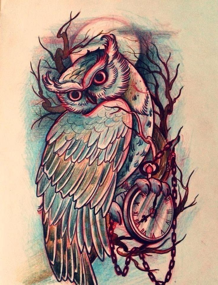 40 Simple Owl Stencil Tattoo Design Owl Tattoo Design Owl Tattoo Drawings Tattoo Drawings