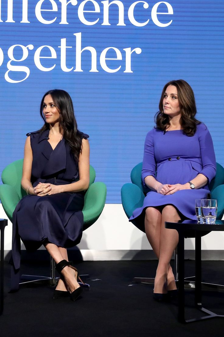 Kate Middleton and Meghan Markle Do Coordinating Style for the First Royal Foundation Forum