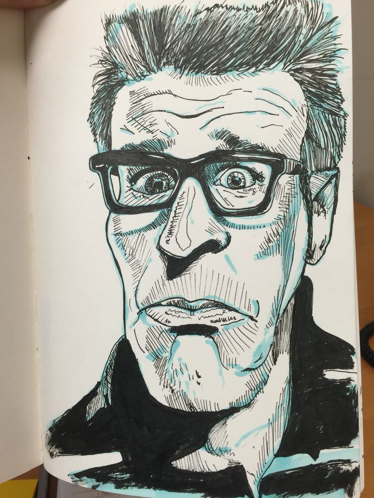 100 stylized portraits number 40-Matt Fontaine