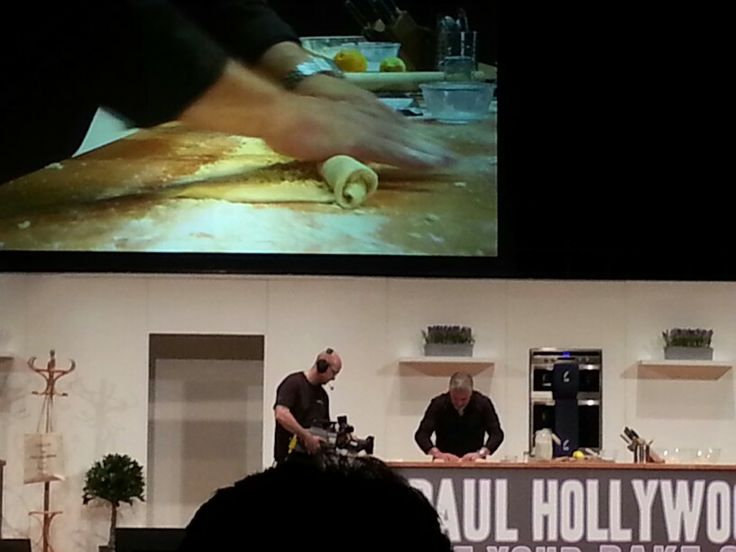 Paul Hollywood making his orange and almond couronne