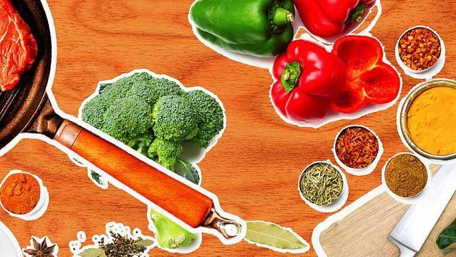 Gemengde groenten met Indonesische kruiden