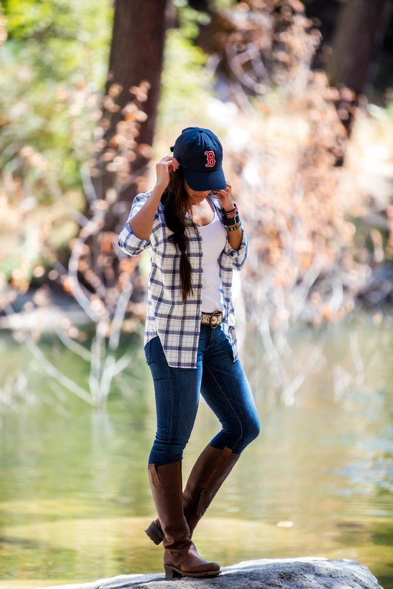 beautiful hiking outfit tumblr summer 8