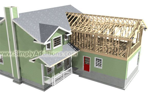 65 best for the home cape cod addition ideas images on for Detached bedroom addition