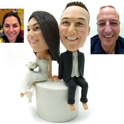 Wedding Cake Topperscake Toppers For Weddingpersonalized Topper Figurines