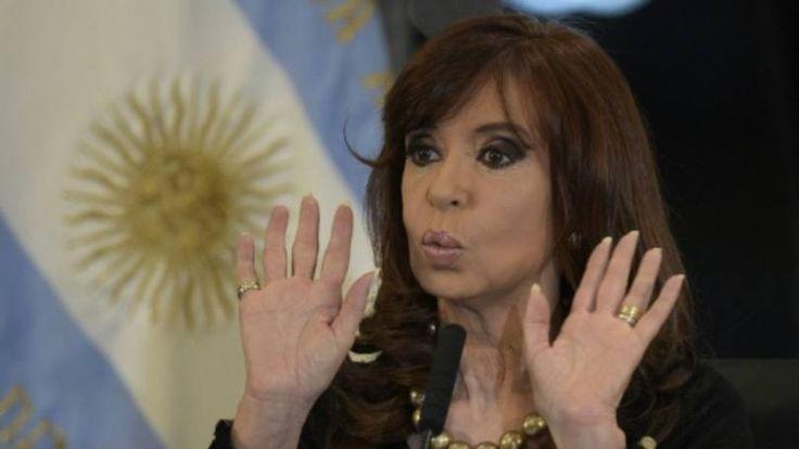 A presidente argentina, Cristina Kirchner, em Buenos Aires
