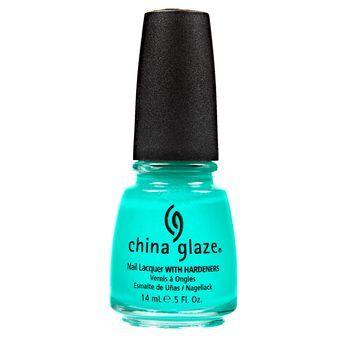 China Glaze Neon Turned Up Turquoise