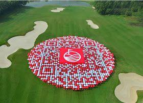 Oblate Spheroid: Umbrella Public Relations Stunt Achieves World Record Claim