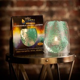 $12.95 - Lila Teal | Modgy.  www.modgy.com.  Comes w/4 candle bags, 4 LED tea lights - just add H20! Reusable, folds up flat when not in use.  Great stocking stuffer, hostess gift and for YOU too!