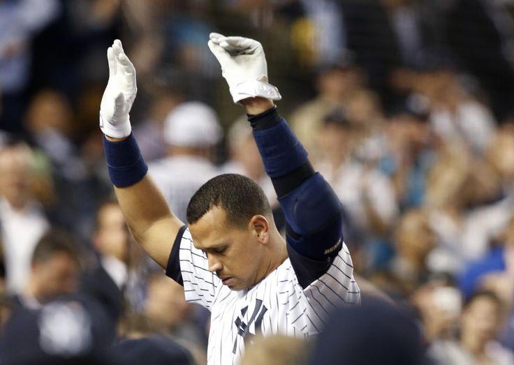 Alex Rodríguez dispara su hit número 3,000 con jonrón al primer lanzamiento del pitcher Justin Verlander