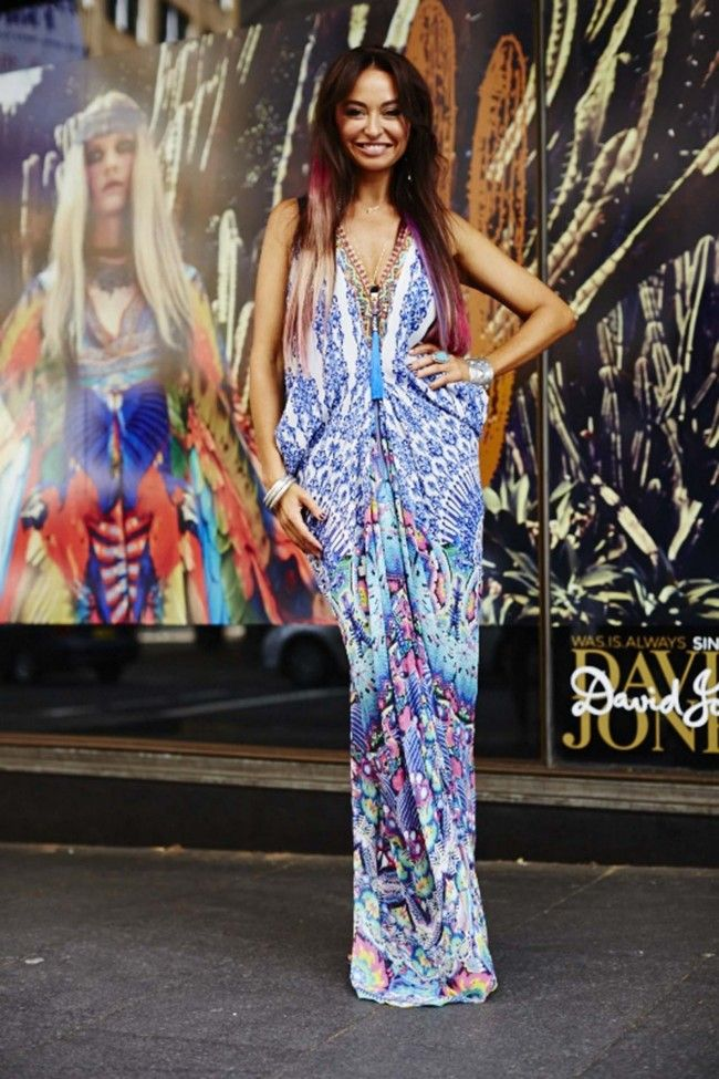 Fashion Dresses Style: Camilla Franks On How To Wear Prints And Colour