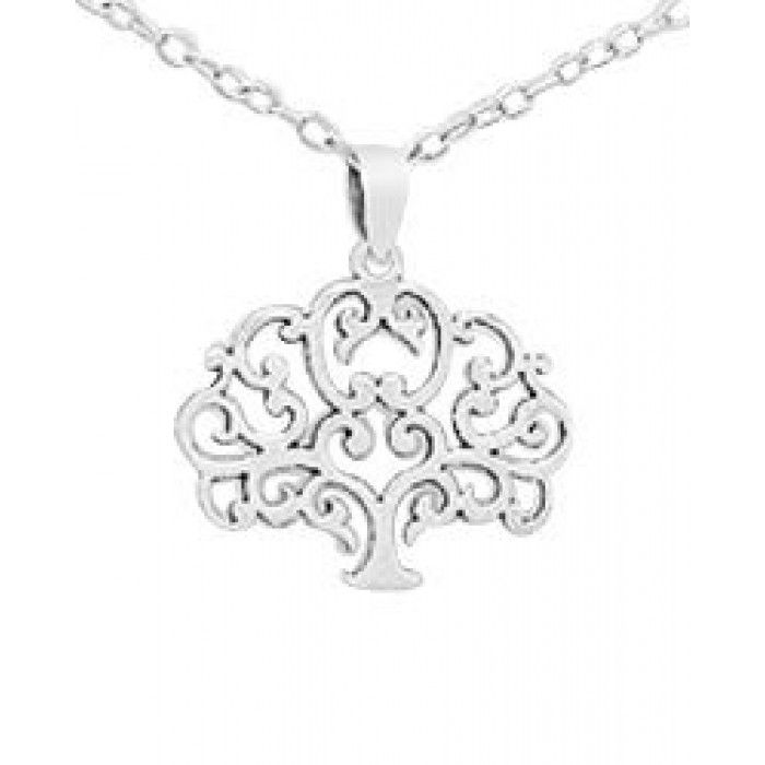 Children's, Teens' and Mothers' Necklaces:  Sterling Silver, Elegant Tree of Life Necklaces.  Gifts for Mothers, new mothers and mothers to be at Baby Jewels.