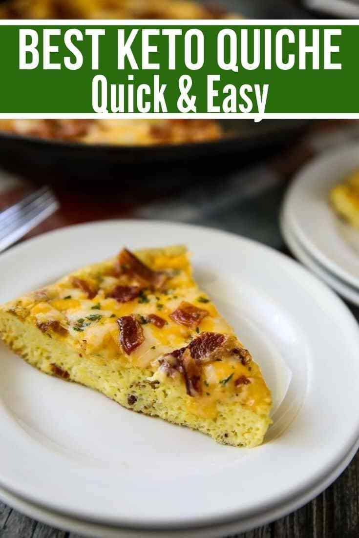 Keto Quiche Recipe With Bacon Cheese Recipe With Images