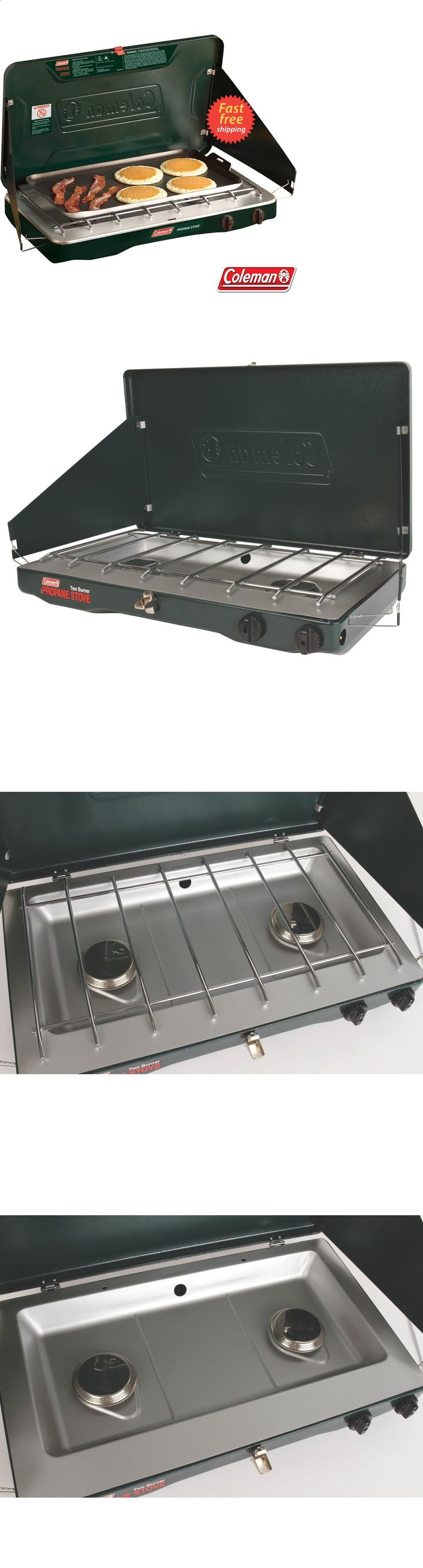 Camping stoves 181386 coleman classic propane stove outdoor 2 burner stove is ideal for