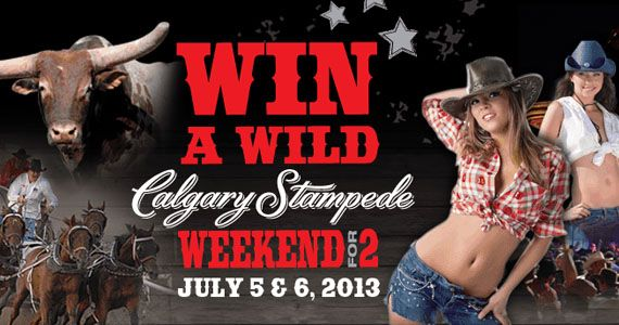 Enter to Win a Trip to the Calgary Stampede Contest