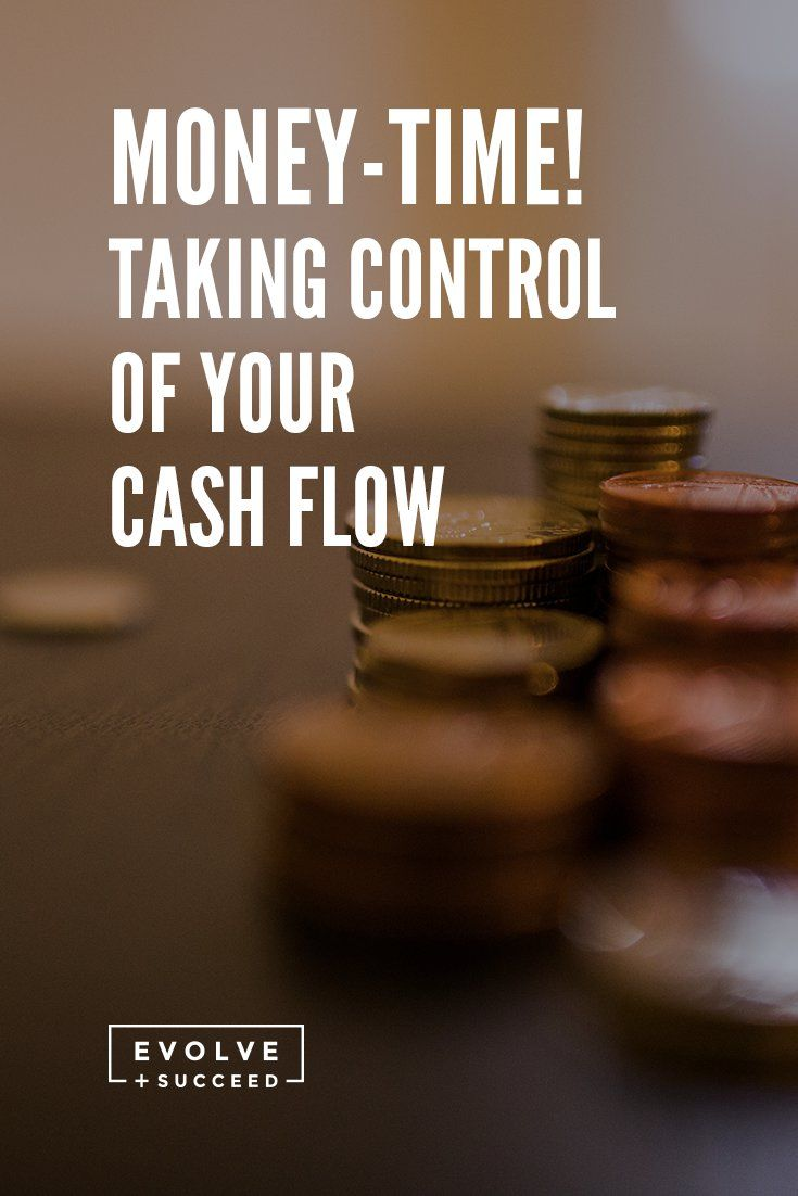 Money time! It's time to take control of your cash flow and get those business finances in order.