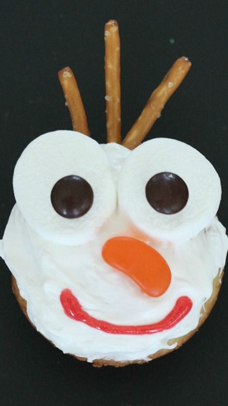 Frozen Olaf Cupcakes How-To ~ fun for a Frozen Themed Party
