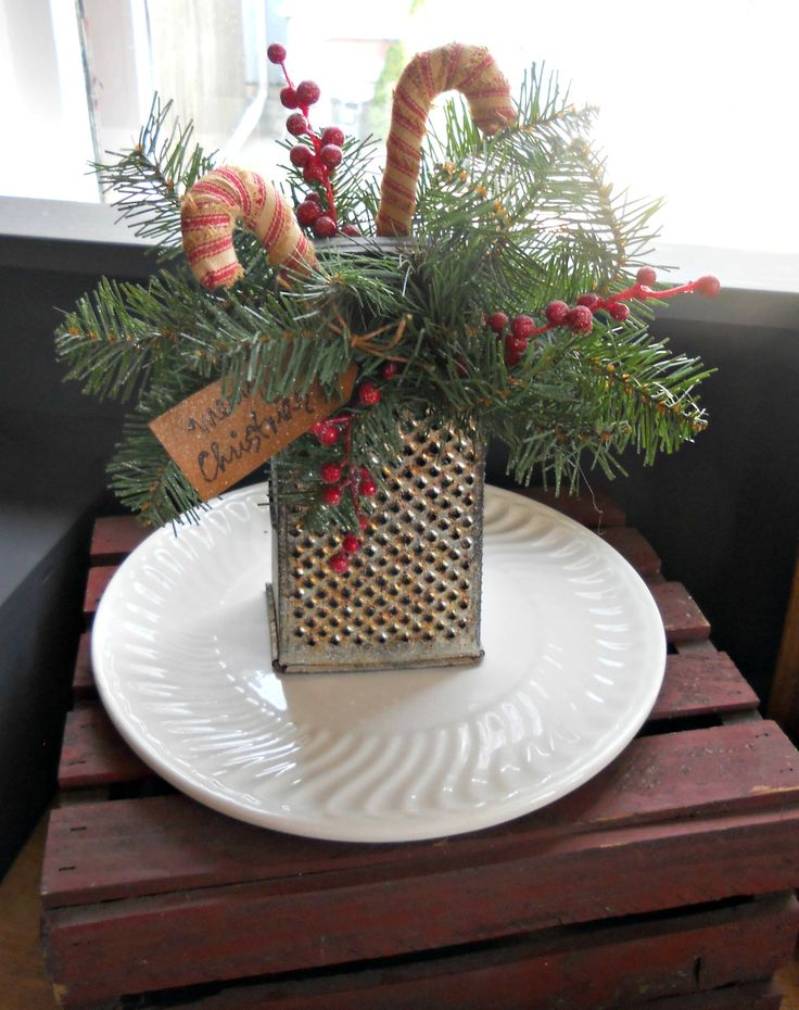 Another great way to use those old graters.