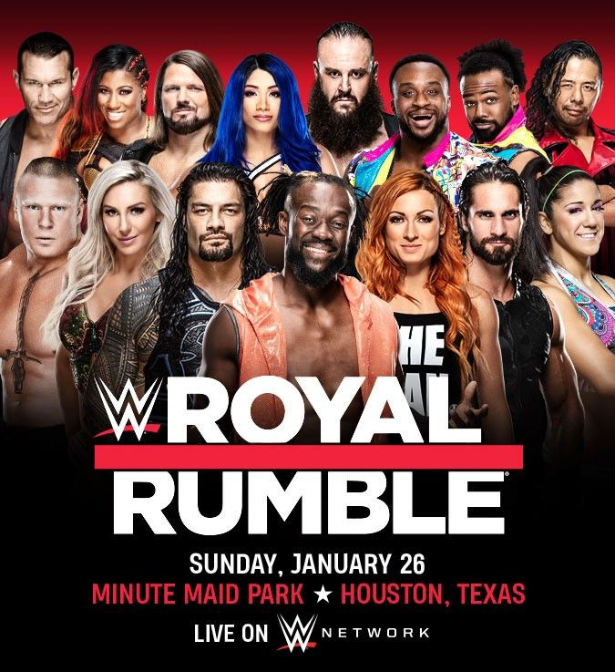 WWE Royal Rumble (2020) English 795MB HDTV Download in