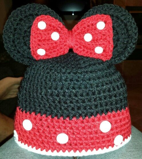 Minnie Mouse crochet beanie? Yarn Hooker Pinterest ...