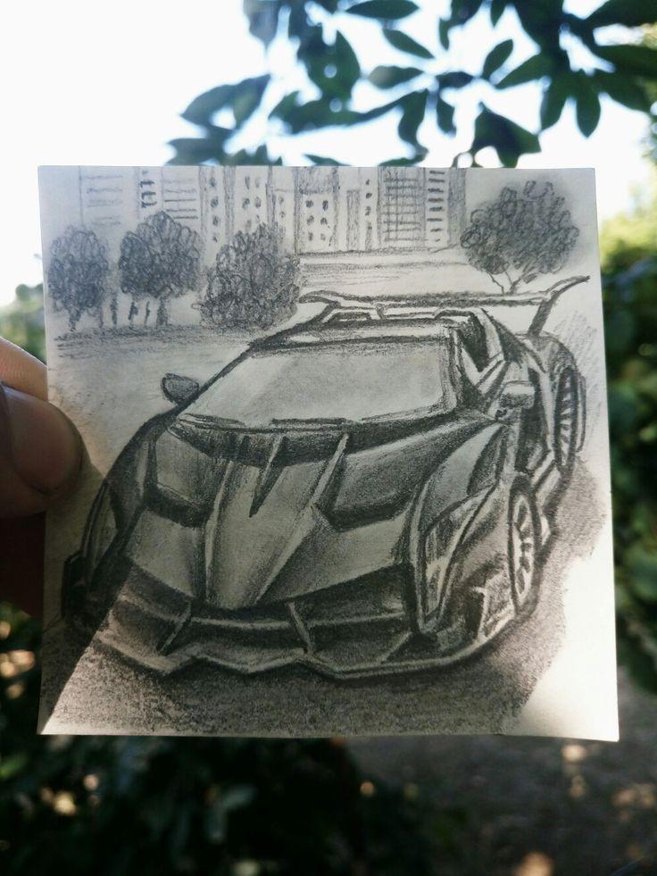 Taksi Karakalem çizim