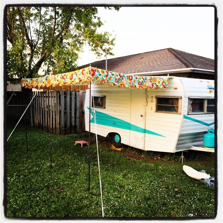 Travel Campers: The 25+ Best Trailer Awning Ideas On Pinterest