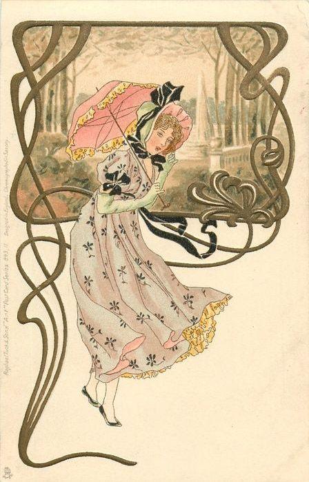 art nouveau 1880-1910