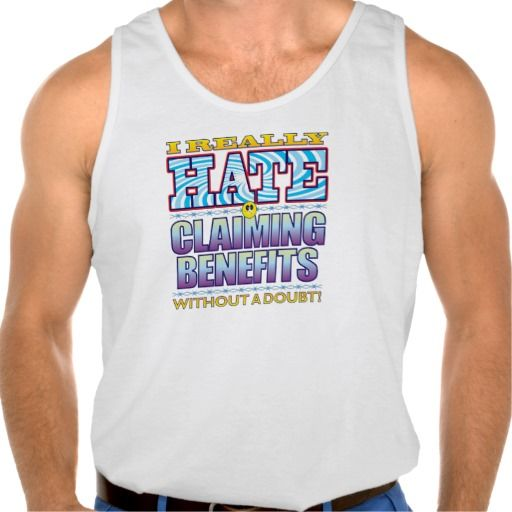 Claiming Benefits Hate Face Tanktop Tank Tops