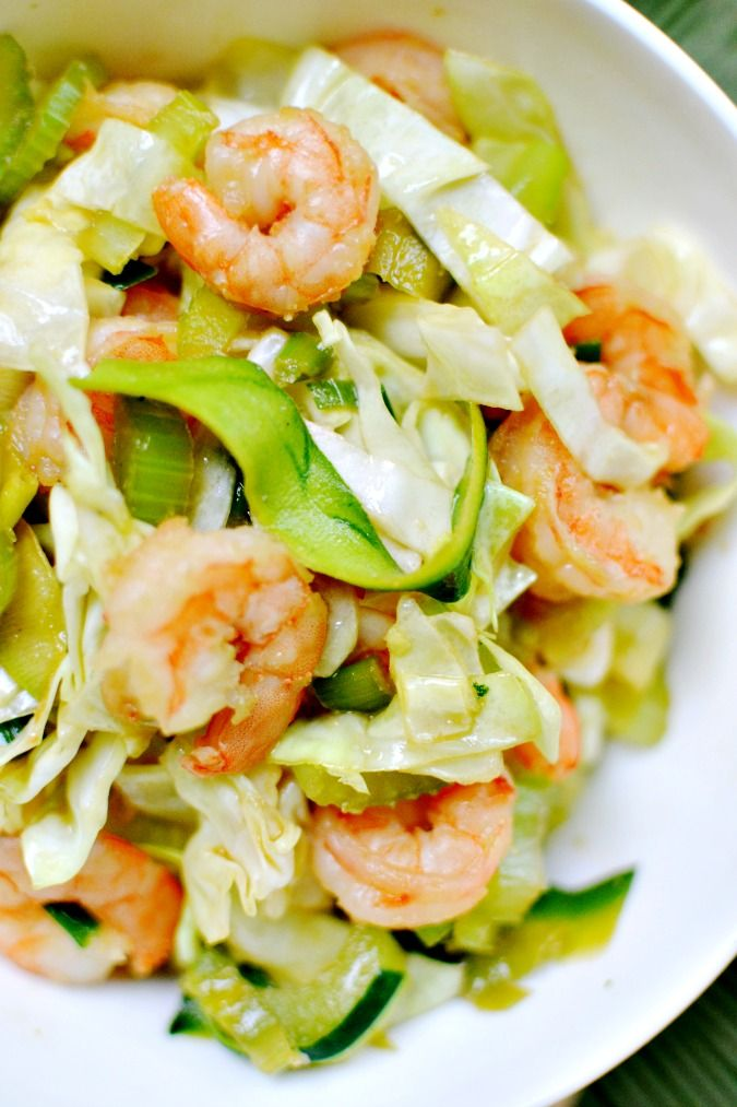 Healthy Chow Mein with Zucchini Noodles