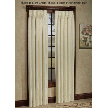 Dover Calais Pinch Pleat Thermal Room Darkening Curtains
