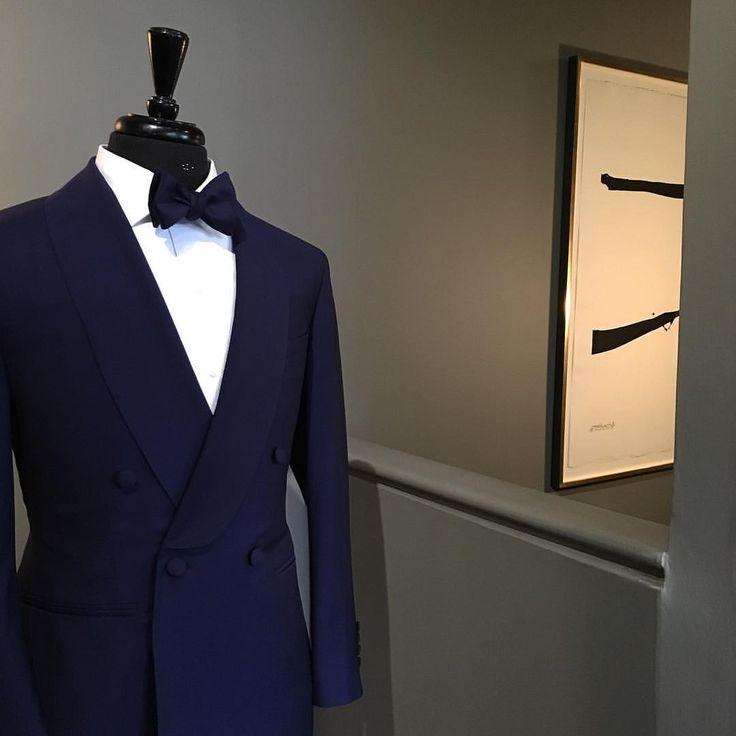 "manolocostanewyork: "" Midnite affair #formalwear #doyouwearmanolo (at Manolo Costa New York) """