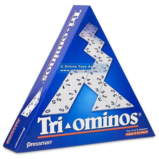 Tri-ominos - The Classic Triangular Domino Game - Online Toys Australia