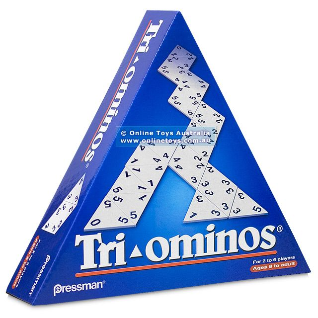 Tri-ominos - The Classic Triangular Domino Game - Online Toys Australia