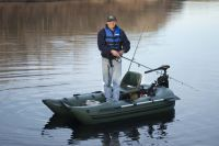 Frameless Pontoon Boat – Inflatable Pontoon Boat for one person fishing