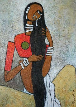 Uma             Acrylic on Canvas                70cm x 50cm