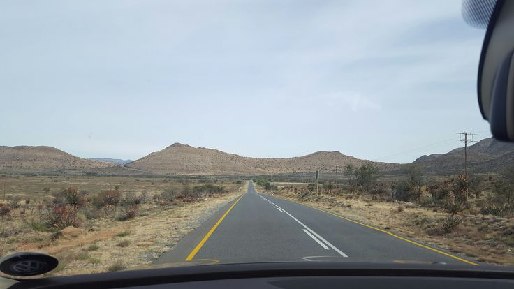 Driving through the Karoo