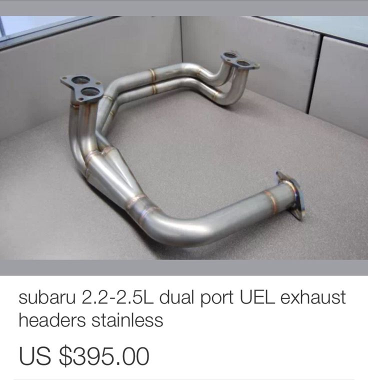 subaru impreza rs exhaust systems