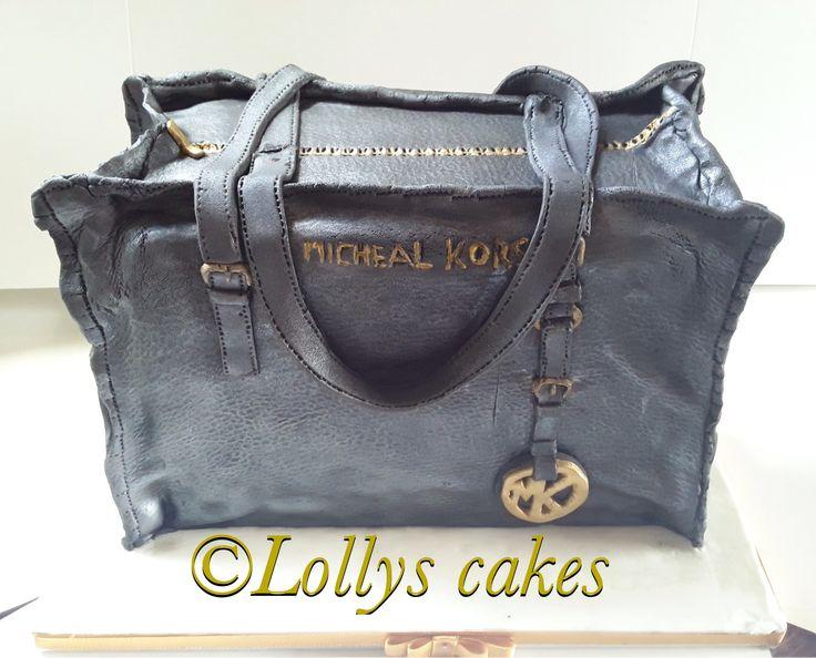 Designer handbag Michael Kors cake.